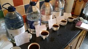 تست آب مناسب قهوه