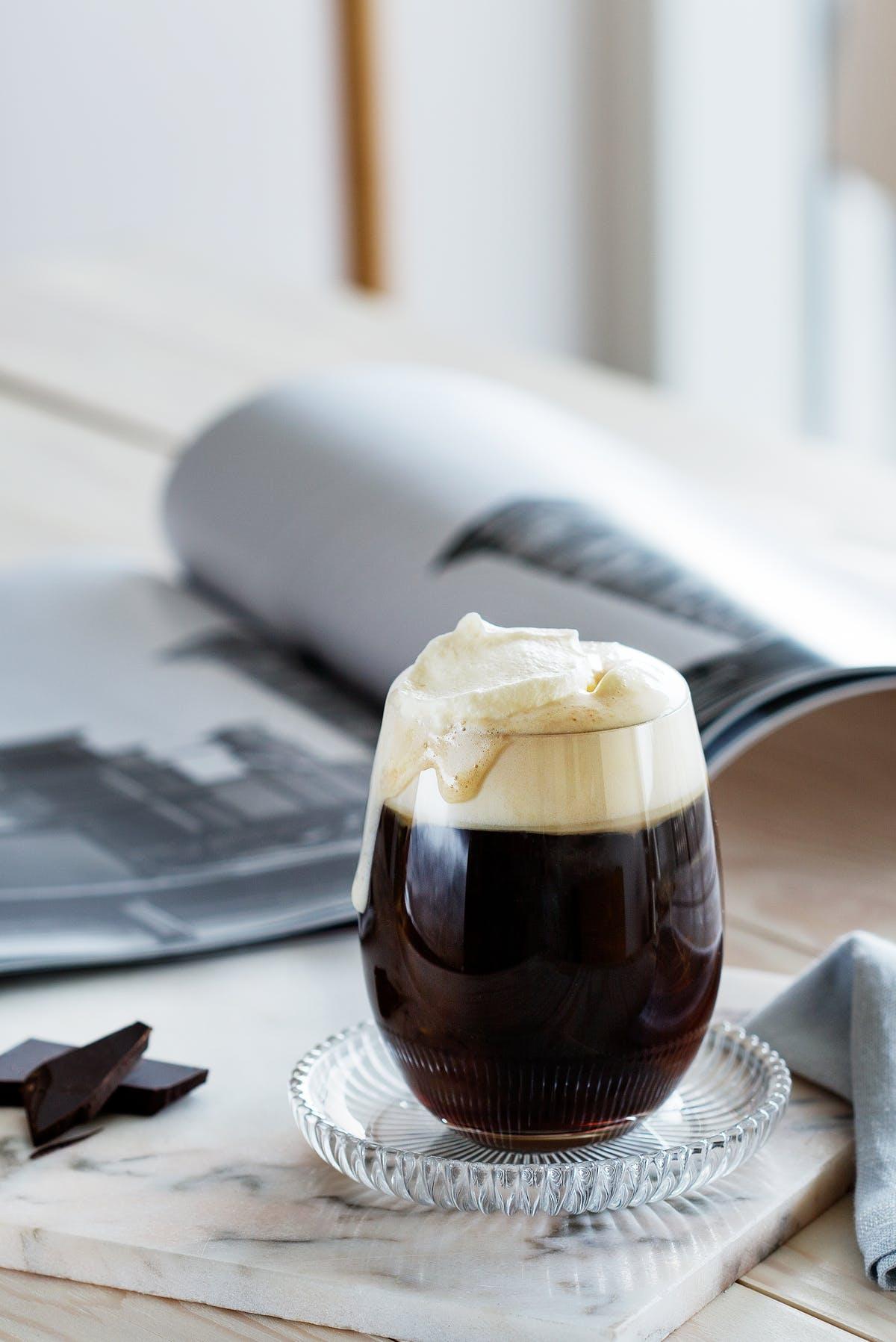 قهوه با خامه