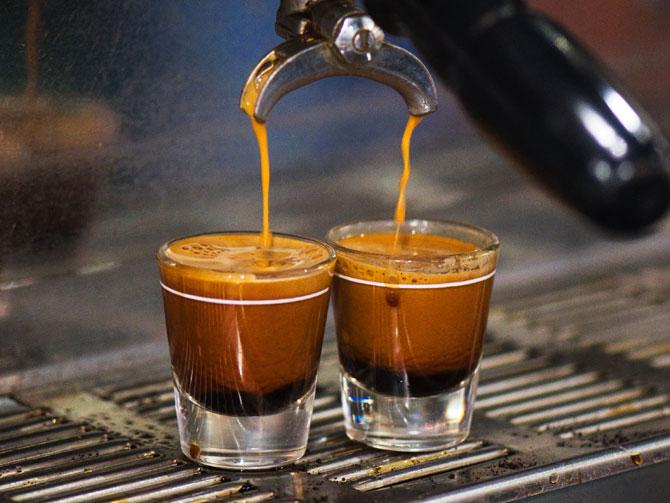 کاپینگ قهوه اسپرسو