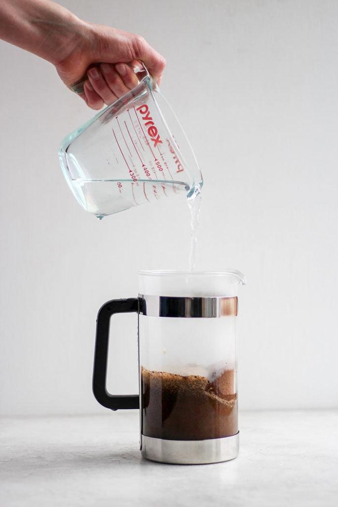 درست کردن قهوه فرانسه