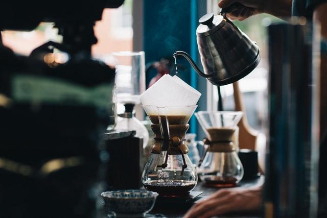 آب مناسب قهوه فیلتری