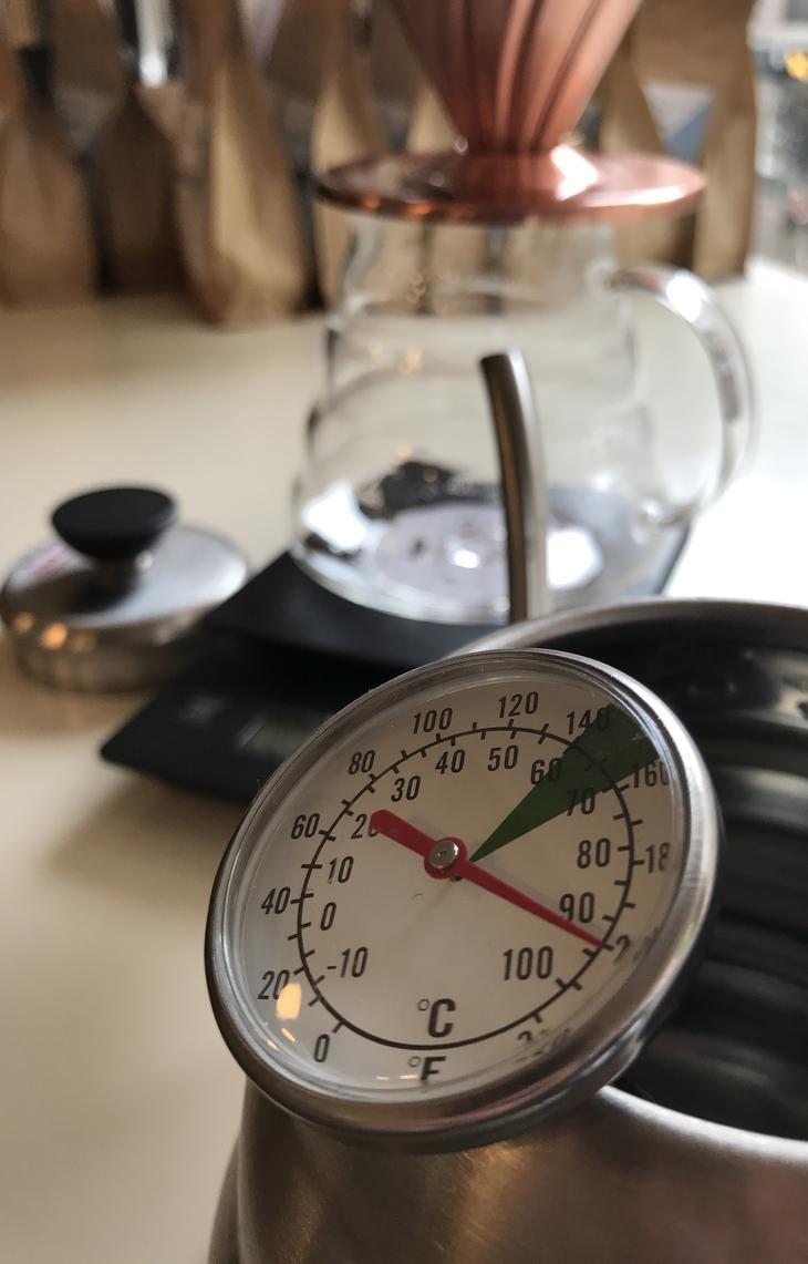 نسبت مناسب قهوه و آب در تهیه قهوه فیلتری